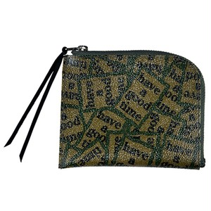 """FABRICK / """"HAVE A GOOD TIME"""" ZIP WALLET"""