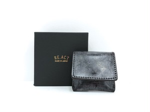 【RE.ACT】Coin Purse (black)