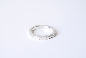 Stone ring 1 -hard-  (SILVER)