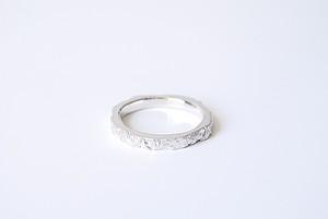 Stone ring 1 -hard-  (SILVER)