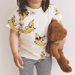 バナナ 半袖Tシャツ【19s01015】