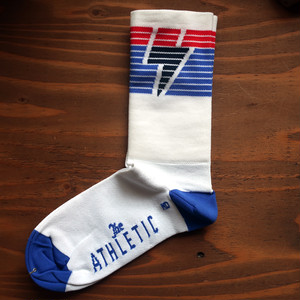 THE ATHLETIC National Collection Sock / WHITE