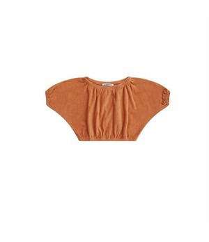MINGO. / CROPPED TOP[TOASTED NUT]