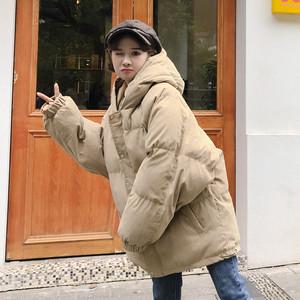 【アウター】ファッションフード付きドルマンスリーブダウンコート25150148