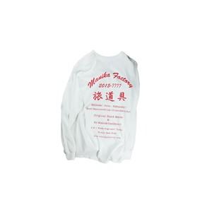 "[SALE]MANIAC LOGO TABI-Print LongSleeve/WHITE/""Limited Edition"""