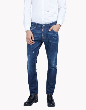 DSQUARED2 (ディースクエアード) SKATER JEAN s74lb0132