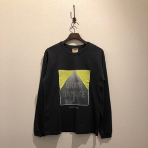 Graphic LS Tee / MADMAN  (BLACK) / LOST CONTROL