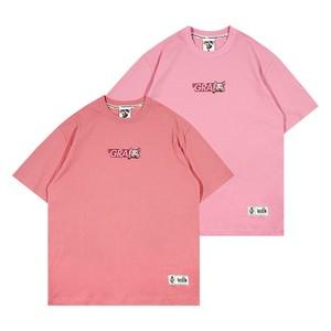 【GRAF】フロント&バックロゴ刺繍入りTシャツ