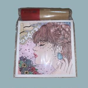 1st E.P.アーバンガールは染まりたい 歌詞カード オリジナル色えんぴつつき