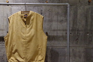 Fake suede vest(USED)