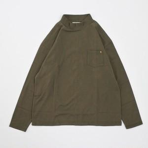 【HARVESTY】MOCK NECK L/S T-Shirt モックネックロンT 日本製 MADE IN JAPAN ハーベスティ ユニセックス