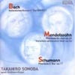 HTCA-1030 Takahiro Sonoda Piano Recital Live(Piano/Bach, Mendelssohn, Schumann /CD)