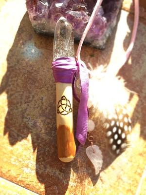 林檎の魔法の杖ネックレス