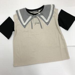 ZIDDY 1235-33524 えりセットTシャツ