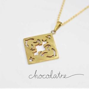 chocolatre「フォンダン」ブラスペンダント