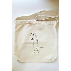 かわうそスケボー 2Way Shoulder Bag