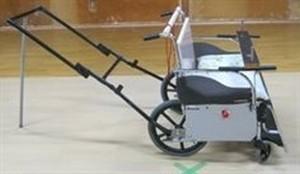 2人乗り万能車椅子「助人くん」