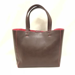 Fake Leather Mini Tote [Choco]