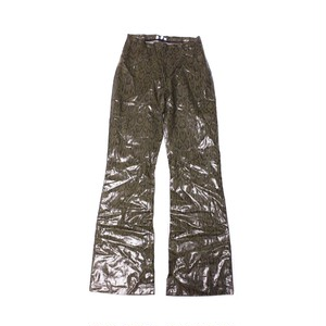 Python Pattern pants green