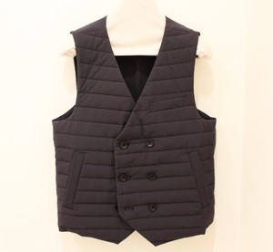 TIMONE Quilting Double Breasted Gilet