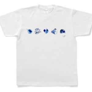 Tシャツ『にじみ絵』