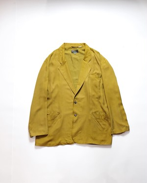 silky yellow jacket