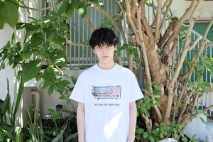 The words×Fllam Collaboration T-shirt