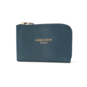 DRESS HIPPY(ドレスヒッピー) / MINK COMPACT WALLET (BLUE)