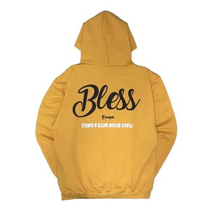 BLESS EMBROIDERY HOODIE(9oz) /GOLD