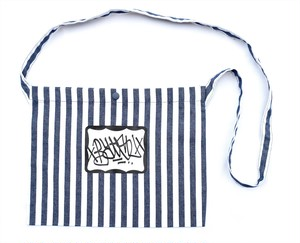 BATSU ORIGINAL tagging sacoche bag stripe