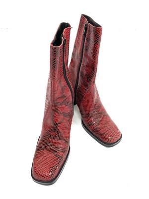 vintage python  boots / 2SSGD20-10