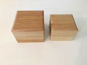 木製 重箱 5寸(2段)