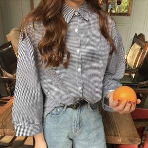 ♡three-quarter length shirt 6277