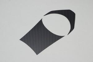 HONDA GROM(JC61) タンクアッパーカーボン 黒