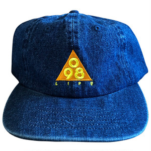 TRIANGLE 098 BALL CAP(ORANGE) / LIFEdsgn