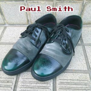 ポールスミス ジーンズPaul Smith JEANS/ヌバック×レザー/スニーカー/27/UK7/EU41/US8/