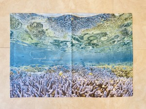 オリジナルビーチタオル「Coral」Sサイズ