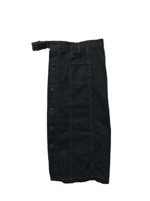 【No. BSL804-L】 Unisex Docking Jean Skirt-Left