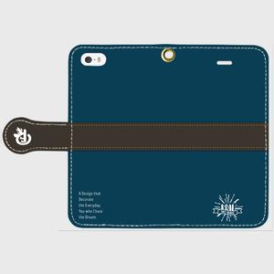 【Logo】iPhoneケース(手帳型)