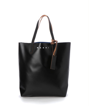 MARNI Shopping Bag  Black Azure SHMQ0000A3