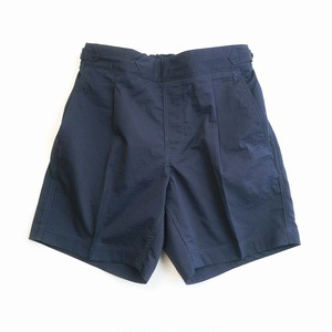 COLONY CLOTHING / NAVY RIP-STOP POOL SIDE SHORTS / CC21-PT11-2