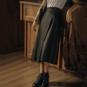 Aライン巻きスカート   Sk-021