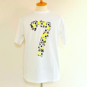Flower 7 T-shirts White / Yellow