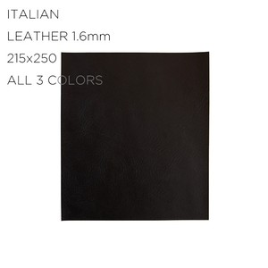 ITALIAN LEATHER (S 215X250) 1.6mm