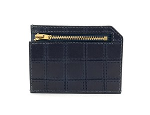 RE.ACT Stitch Indigo Slim Wallet