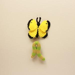 材料set「手編みのかわいい猫の首輪」