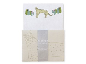 PLANTER ミニレターセット <cheetah>