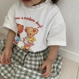 bananaj.レトロ bear tee[80-110]即納