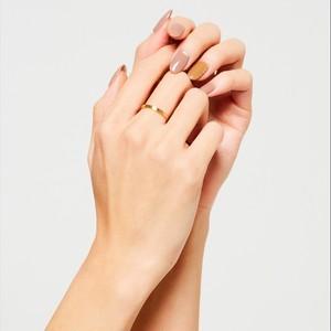 Rose simple ring #9