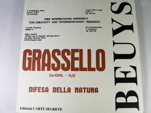 Grassello / Joseph Beuys